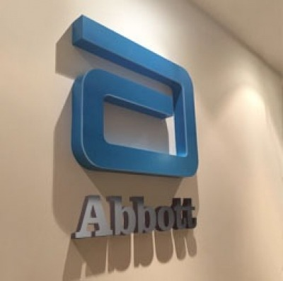 Architectural signage for Abbot offices
